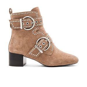 Jeffrey Campbell Cygnet studded block heel bootie